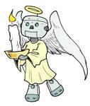 Robobob Angel by Yeocalypso