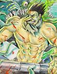 Manga Madness. Blutrotkaeppchen. Huntsman
