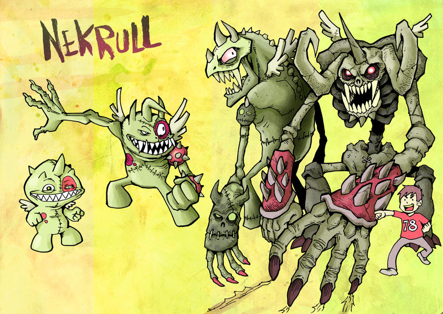 Monster Nekrull for ToonsUp