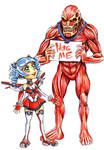 Manga Comic Con: Attack on Titan: Hug Me by Yeocalypso