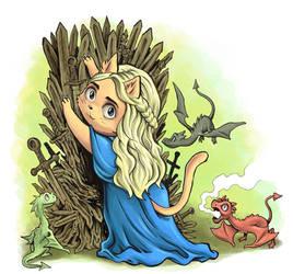 CosCat Khaleesi