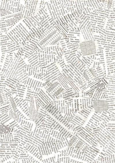 Free Newspaper Texture by Yeocalypso