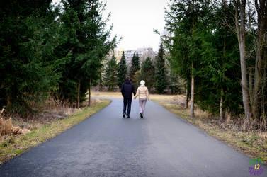 Leisurely walk