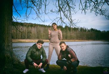Insolent trio