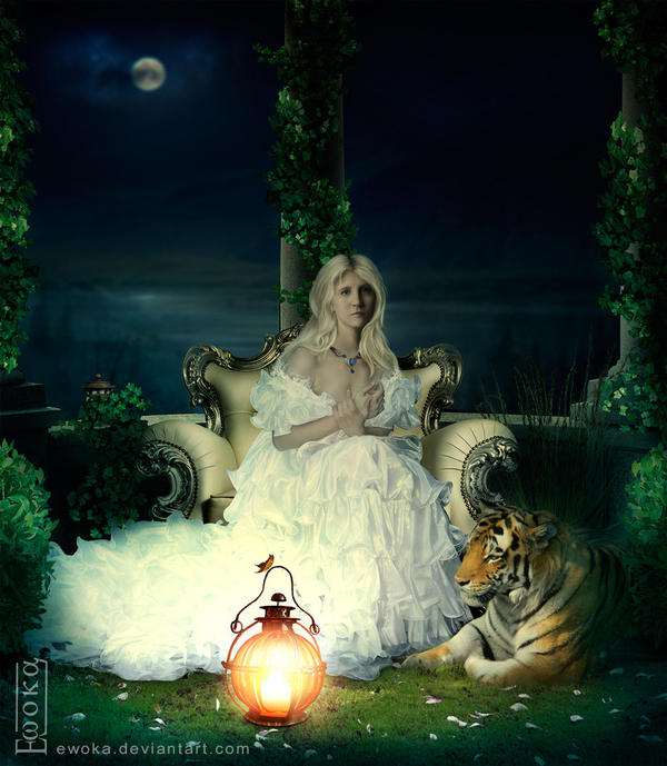 Maid with Tiger