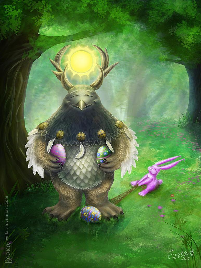 Happy moonkin by Ewoka