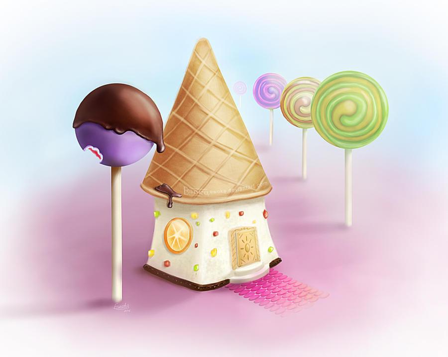 Candy house by Ewoka