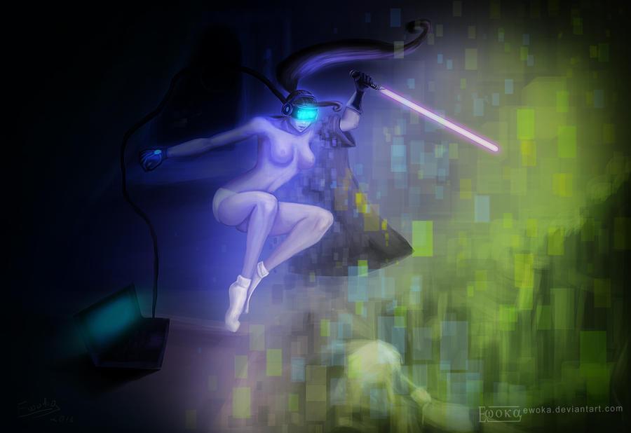 virtual reality by Ewoka