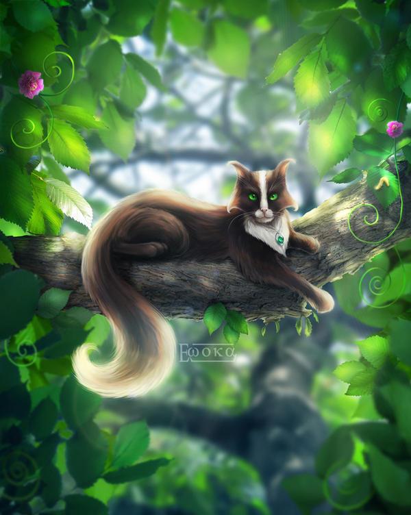 The royal cat by Ewoka