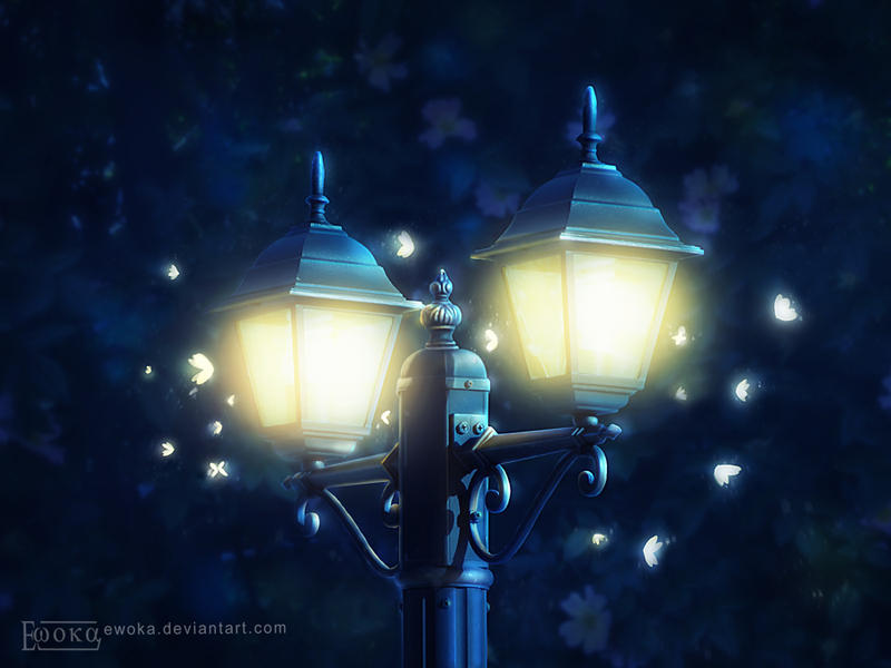 Magic lantern by Ewoka