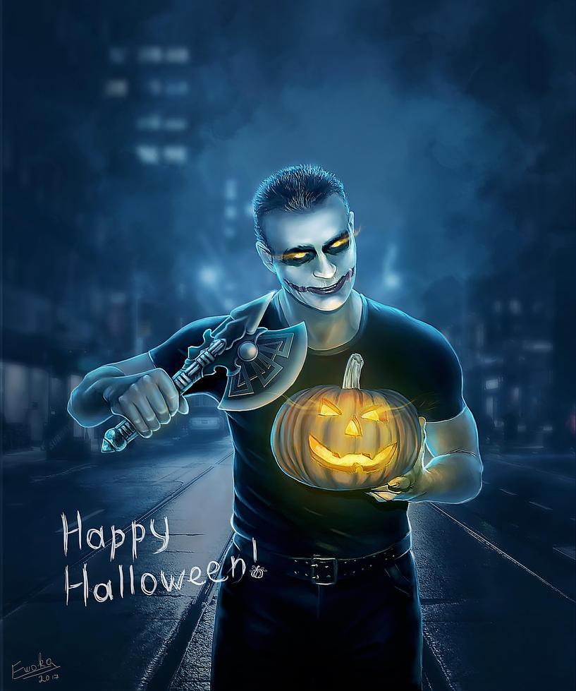 Halloween by Ewoka