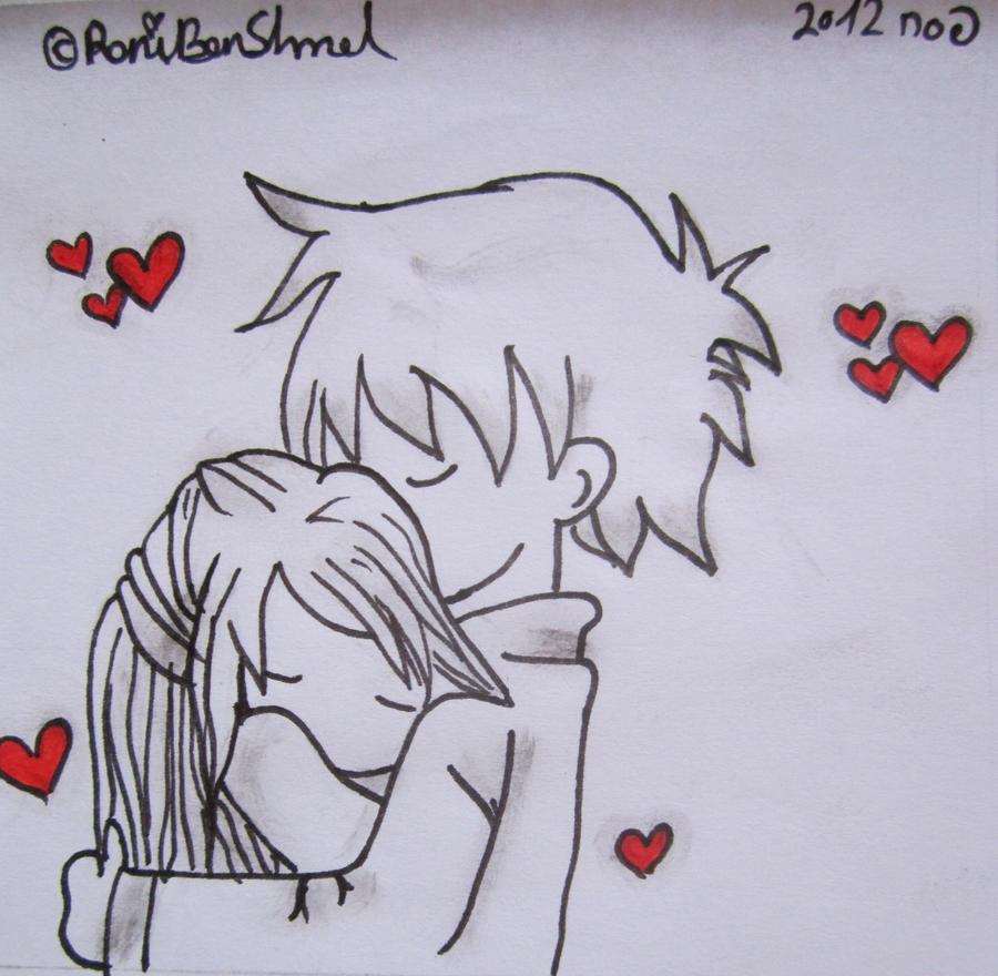 cute chibi couple hugging by roniartforlife on deviantart