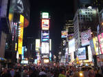 Times Square by ghostofhufflepuff