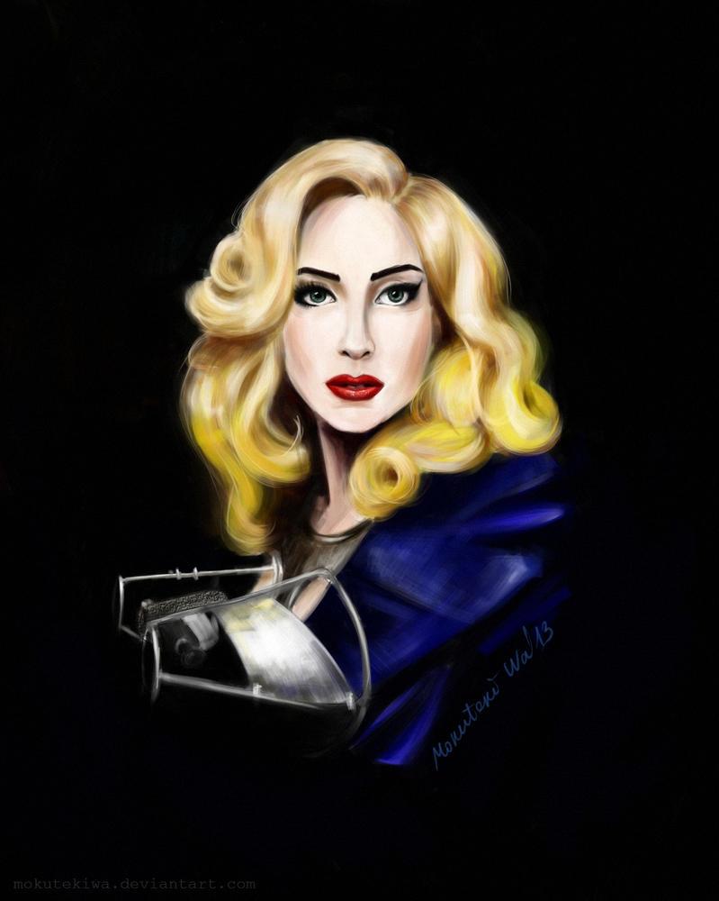 Lady Gaga by MokutekiWa