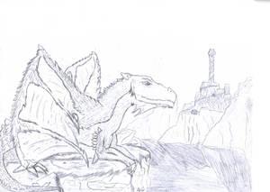 Ceredrodis, The Young Dragon.