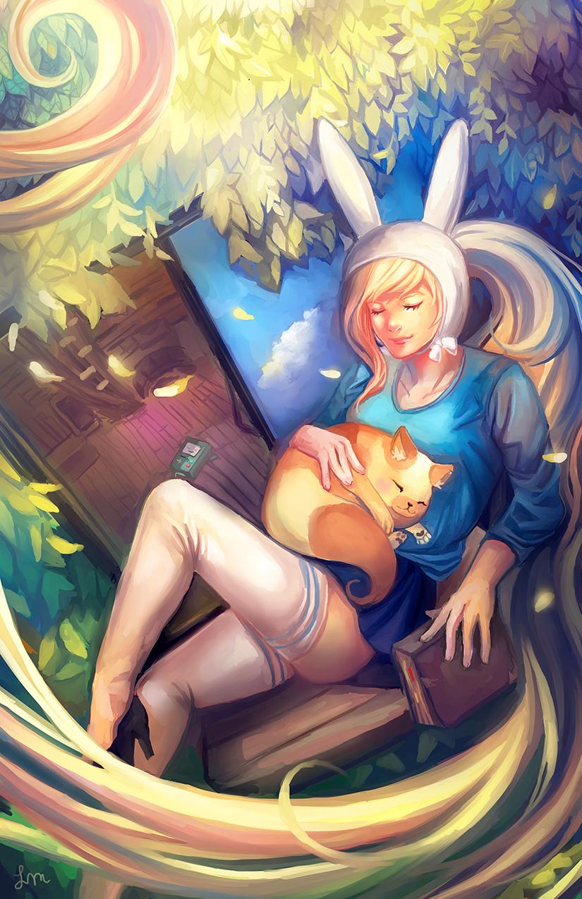 Catnap~ by ClandestineKnight
