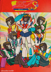 TF: Sailor Jettron poster by flutterjet
