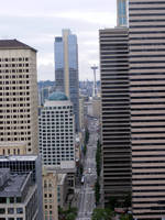 Seattle from 35 floors up by demenshia