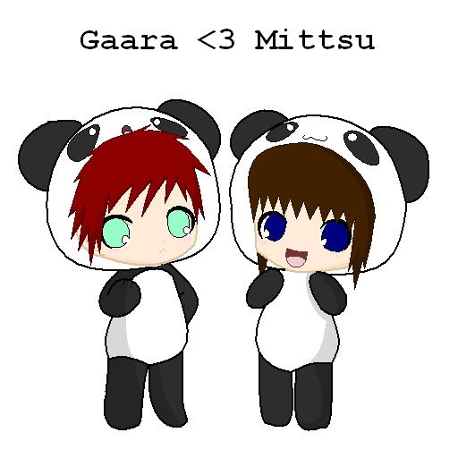 Chibi Pandas by GarrasKiller on DeviantArt Gaara Chibi Panda