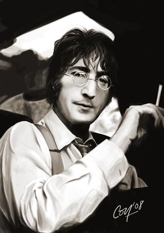 John Lennon by artcova