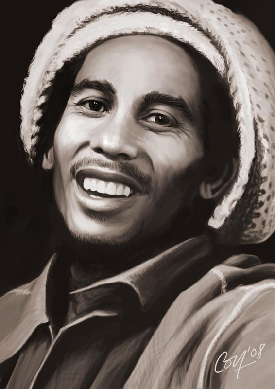Bob Marley by artcova