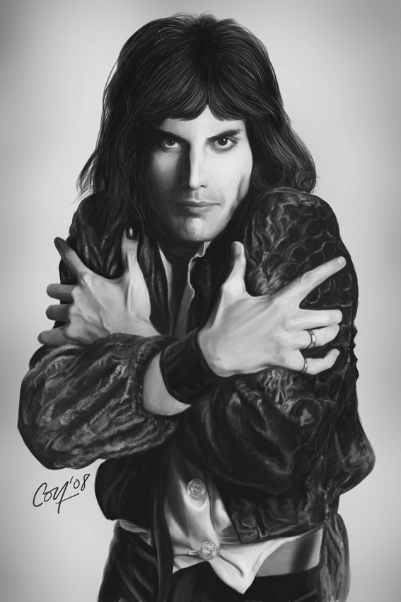 Freddie Mercury by artcova