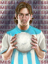 Don't Mess With The Messi by artcova
