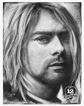 Kurt Cobain - 12Caras Series