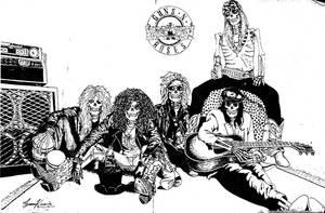Guns N'Roses Chinese Ink