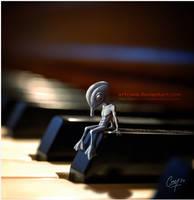 Alien Blues by artcova