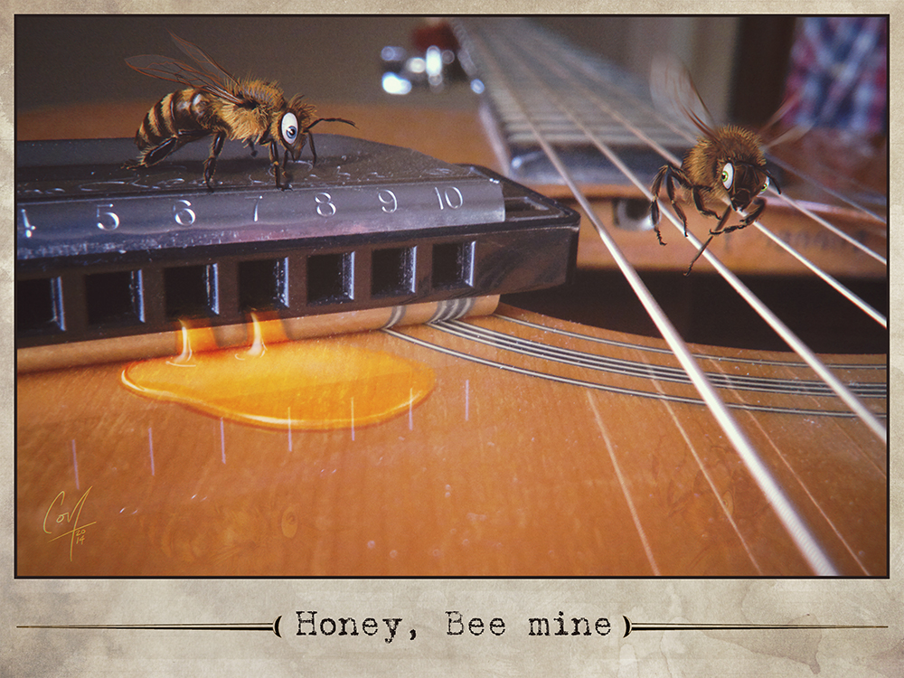 Honey, bee mine by artcova
