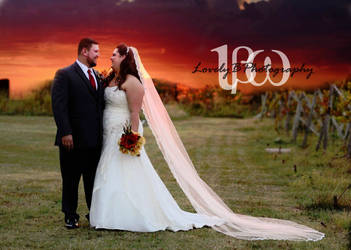 Sunset Wedding in Luther, Oklahoma by LovelyBPhotography
