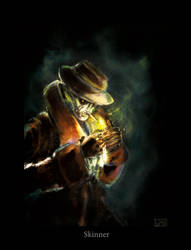 skinner detective by Teniloc