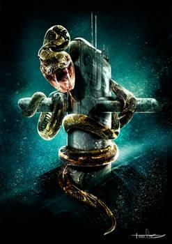 snake submarin