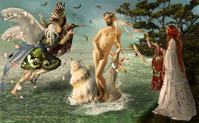 The Birth of Aphroditos