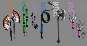 Elements Weapons