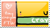 tinycrayon Fan Stamp by chocolate-stars