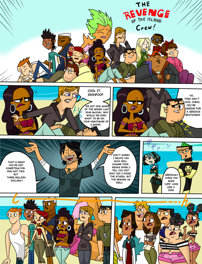 Total Drama Expedition Ch_pg By Xxtaintedartistxx