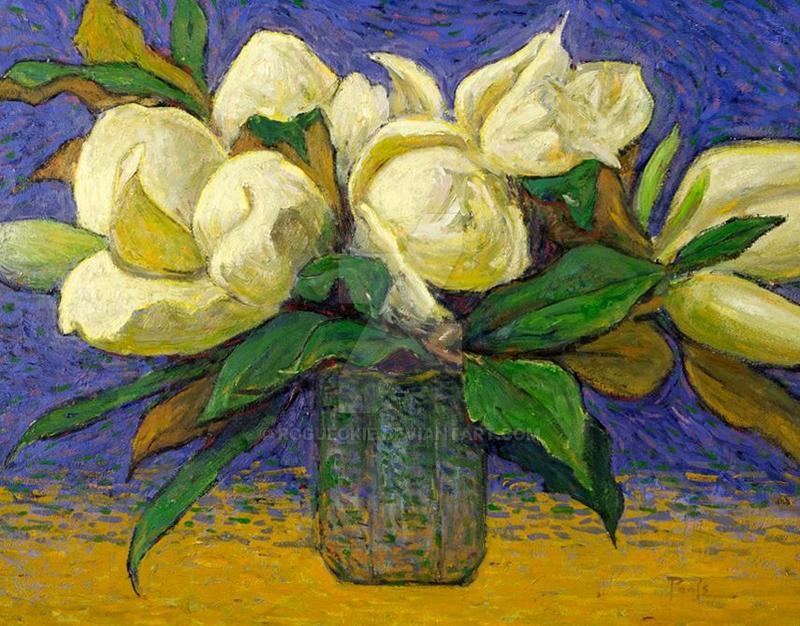Hazel's Magnolias, by O. Gail Poole by RogueOkie