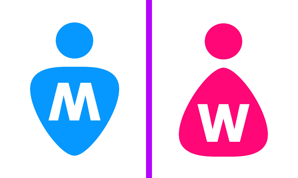 Man  Women Toilet Symbol