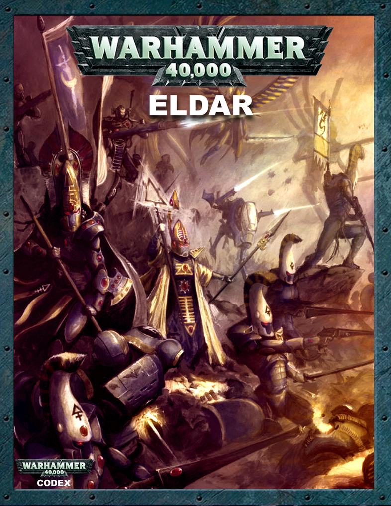 5th Edition Eldar Codex Cover by ColonelMarksman