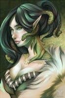 Medusa the Gorgon by Miemz-chan