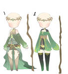 earth sorceress inspired clothes adopt CLOSED