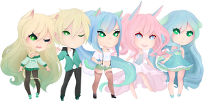 Utau Chibi commission for starlight-enterprise by sounds-like-balloons