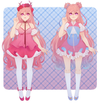 UTAU / DV Design reference 1 for naotop by sounds-like-balloons