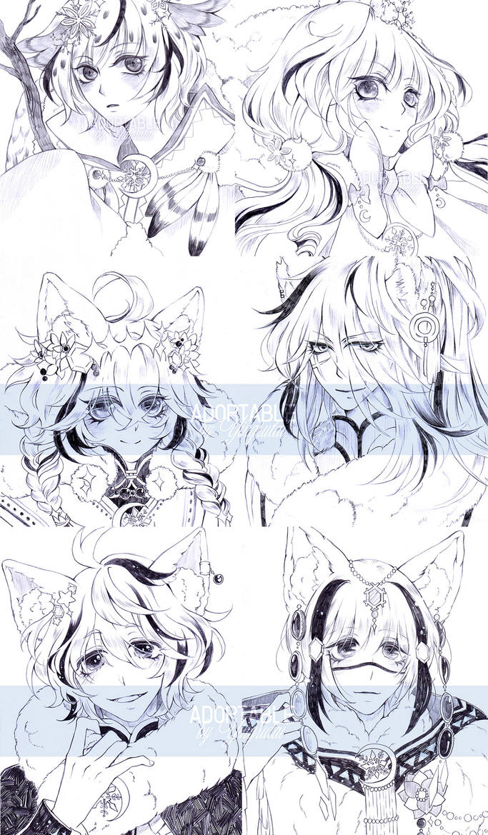 All Head Shot by Yingrutai