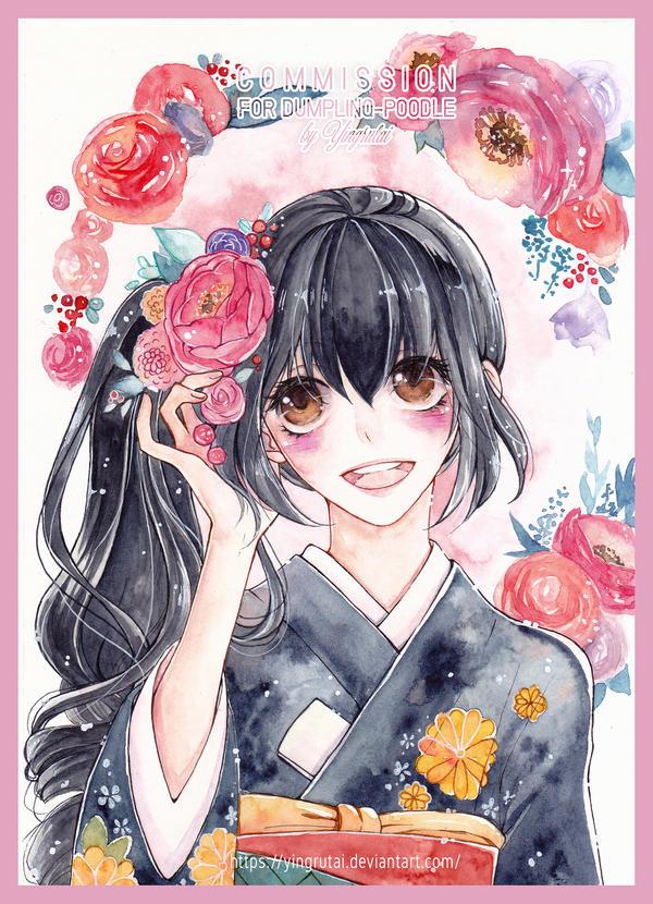Commission | Kimiko by Yingrutai