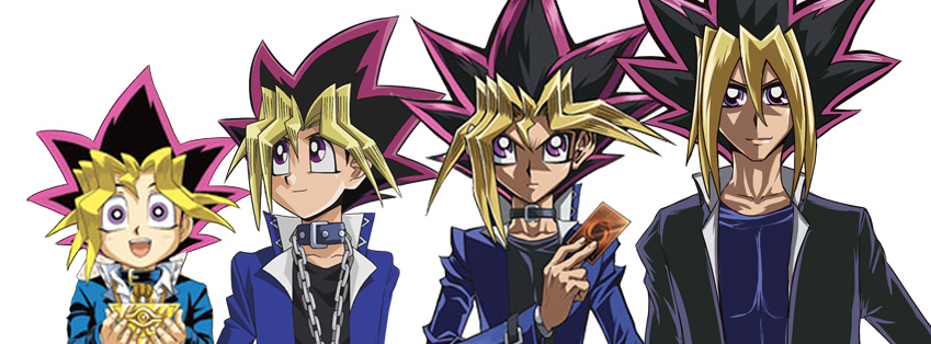 Yugi's evolution by KaoriMacassi