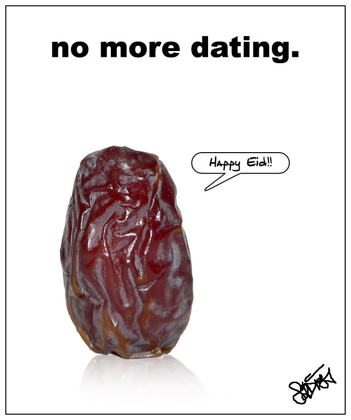 No more dating