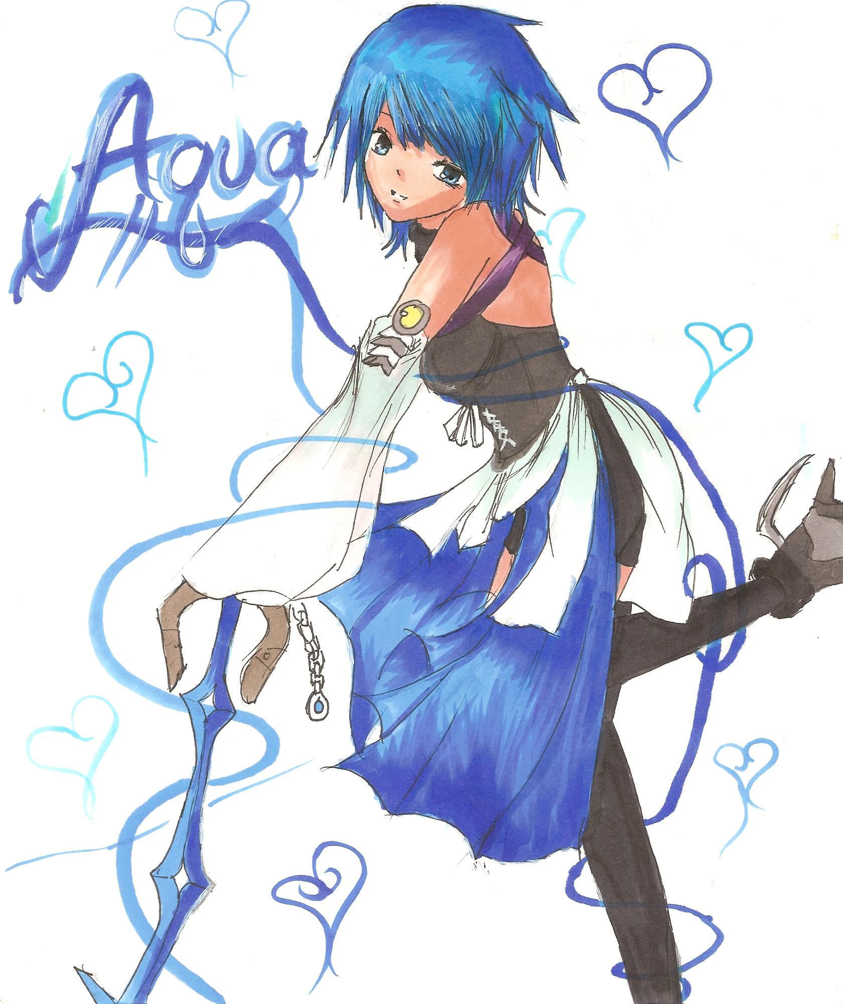Aqua by XxEmoAlicexX